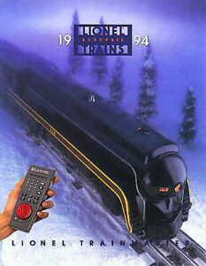 1994 LIONEL TRAIN MASTER CATALOG MINT NR