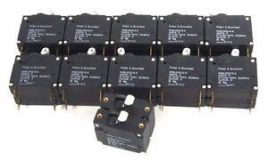AMF Potter Brumfield W91X11-2-5 10 15 30 panel mount breaker