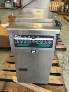 Pitco-SRTG-RETHERMALIZER-High-Efficiency-gas-fryer-with-Filter-system