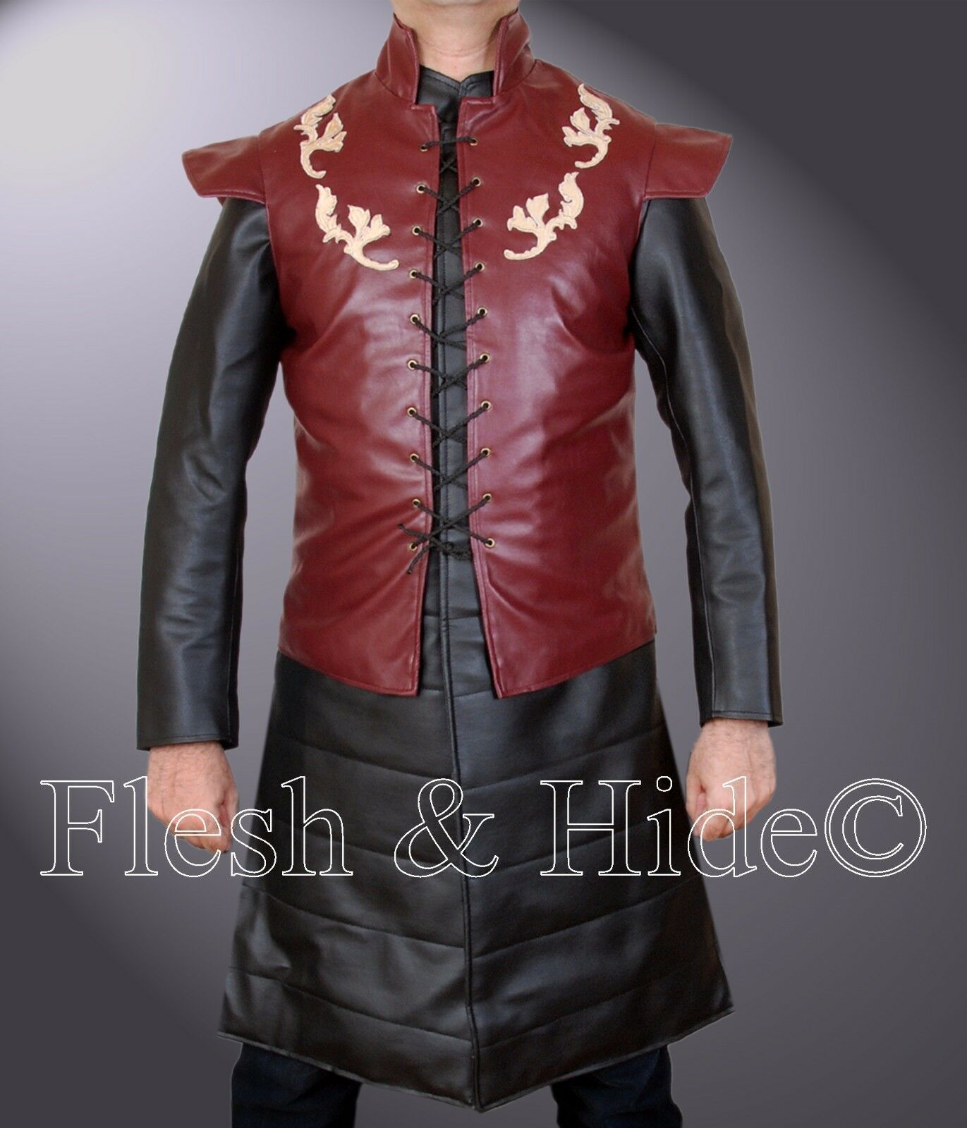 Game Of Thrones Peter Dinklage Tyrion Lannister Two Piece Costume (Vest & Coat)
