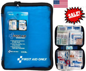 First Aid Only FAO-442 All-Purpose First Aid Kit, 299 Pieces (Pack of 1) Blue