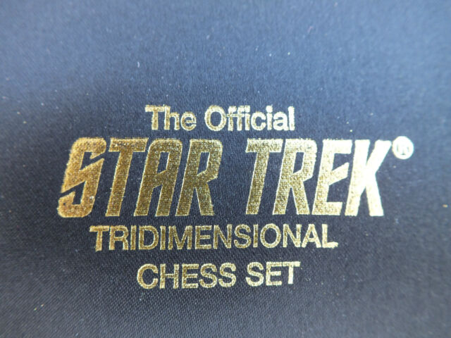 Franklin Mint Star Trek Tridimensional 3d Replacement Spare Chess Pieces
