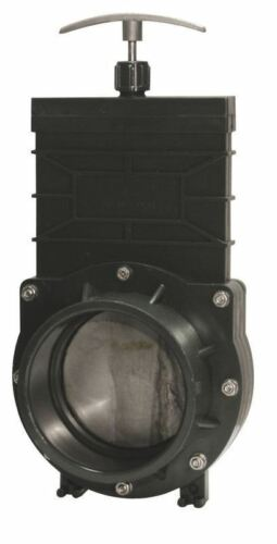 """Valterra Slide Valve 4/"""" 110mm Koi Pond Filter Tank Drain"""