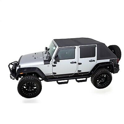 Black Diamond RAMPAGE PRODUCTS 90735 California Brief Top for Jeep ...