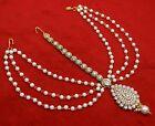 Traditional Goldplated Designer Matha Patti Bollywood Bridal Maang Tikka Je 2759