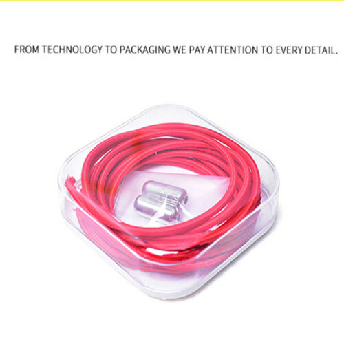 Quick No Tie Lazy Shoe Laces String Locking Elastic Shoelaces Buckle For Sneaker