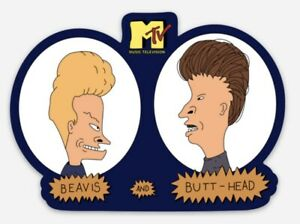 Beavis And Butthead MTV Music Television custom die cut MAGNET