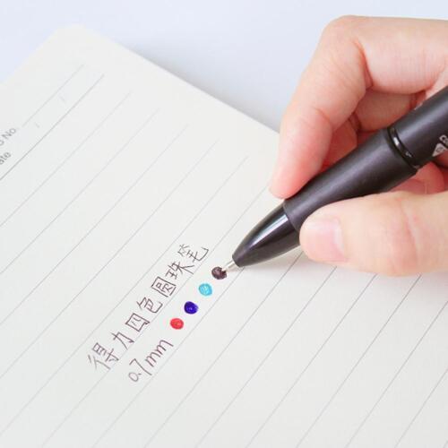 4 Farben in 1 Kugelschreiber Schreiben Mark Stifte Schreibwaren Büro.Schulbedarf