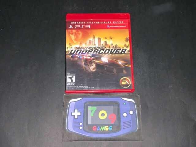 Need for Speed: Undercover (Sony PlayStation 3, 2008) PS3