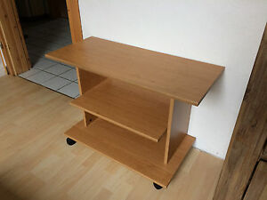 fernsehtisch mit rollen tv board ebay. Black Bedroom Furniture Sets. Home Design Ideas