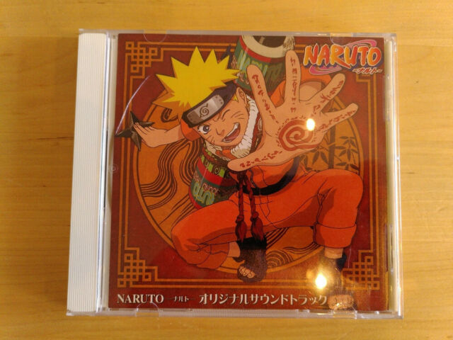 naruto musik cds in englisch