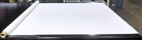 "White Bimini Top Boat Cover UV Outdoor Coated Marine Canvas Fabric DWR 60/""W"