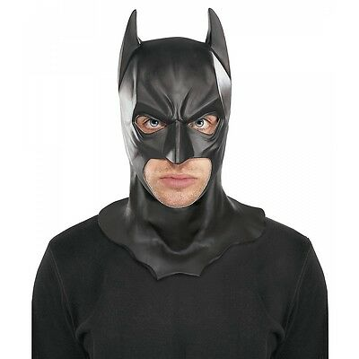 Batman Full Mask with Cowl Adult The Dark Knight Rises Halloween Costume Acsry