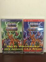 Brand Sealed Psp He-man Umd Movies Seasons 1 And 2