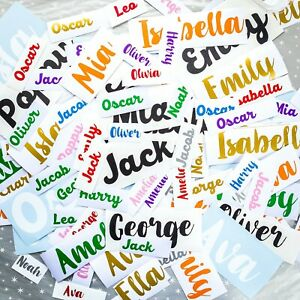 Details about 2x Custom Personalised Name/Word Cut-Vinyl Decal Wine Crafts  Large Wall Stickers