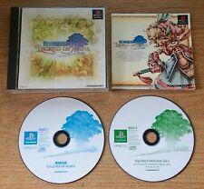 Legend of Mana Seiken Densetsu Playstation Game Complete Japan Import PS1 Games