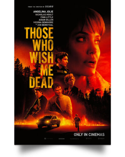 Those Who Wish Me Dead Wall Art Decor Home Poster Full Size