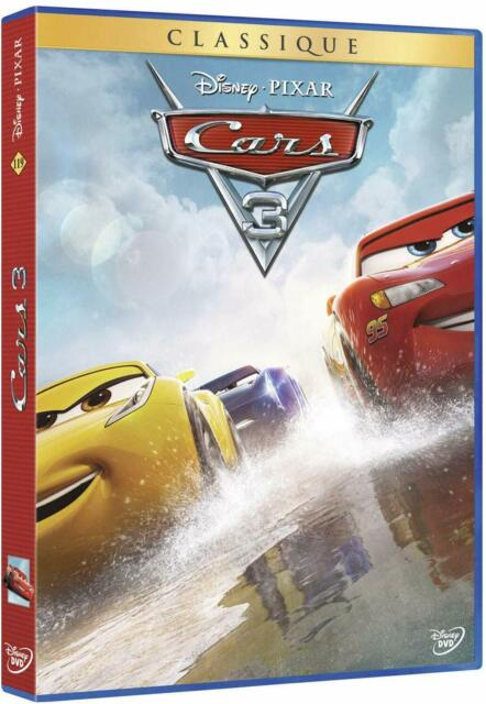 CARS 3 - Disney Pixar - Classique N° 119 - DVD Neuf sous blister