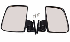 NEW One Pair Golf Carts Folding Side View Mirrors For Club Car EZGO Yamaha