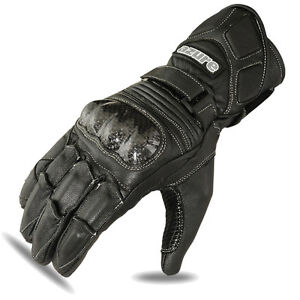 Motorbike Racing Gloves Motorcycle Rider Goat Leather Glove Black Large - London, United Kingdom - Motorbike Racing Gloves Motorcycle Rider Goat Leather Glove Black Large - London, United Kingdom