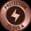 Brennenstuhl 5-8-fach Überspannungsschutz//Blitzschutz Mehrfachsteckdose Wandmont
