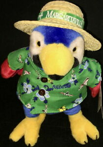 Margaritaville-ORLANDO-2006-11-034-PARROT-PLUSH-Rare-ARCHIVE-Prototype-with-Tags
