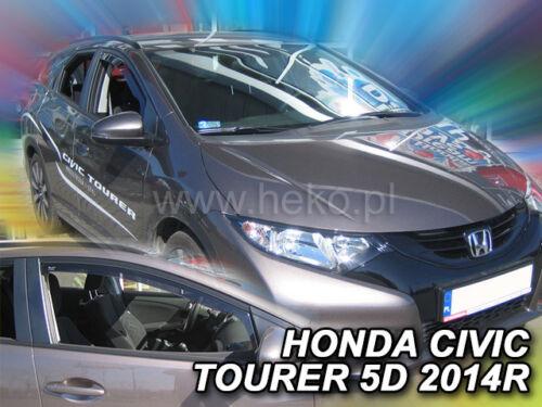 HEKO 17162Windabweiser für HONDA Civic Tourer 5-türig 2-teilig Bj. ab 2014