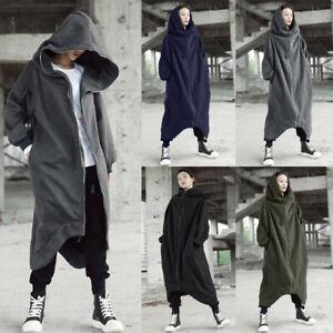 ZANZEA-Women-Asymmetrical-Sweatshirt-Sweats-Hoodies-Hooded-Jacket-Coat-Outwear