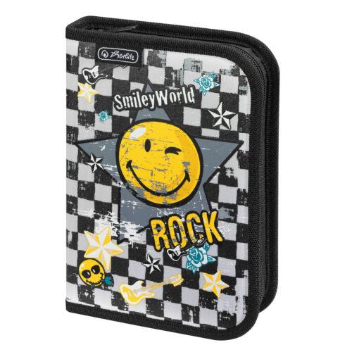 Smiley World Rock von Herlitz Schüleretui 19 tlg