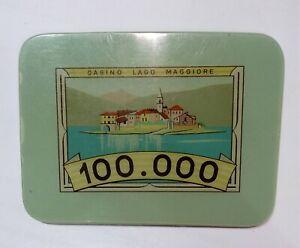 NC-Casino-LAGO-MAGGIORE-PLAQUES-FICHE-TOKEN-da-100000-lire