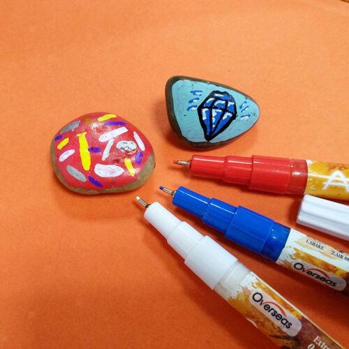 Acrylstifte Permanent Marker Set DIY Art Filzstift Acrylfarbe Marker Stifte