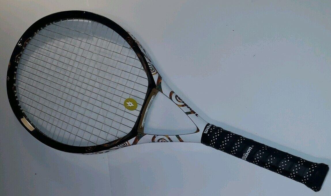 Ncode W5 Divina iristennis Raqueta Agarre 4 3 8  111 SQ  cabeza de tamaño Raqueta Wilson