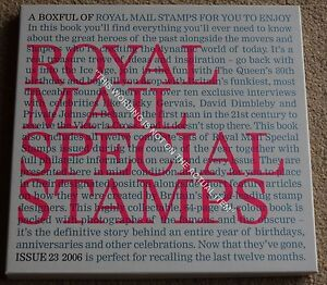 Royal-Mail-Special-Stamps-Year-Book-23-for-2006-Complete-with-all-Stamps