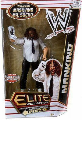 Official Mattel WWE Elite Series 17 Mankind Wrestling Action Figure