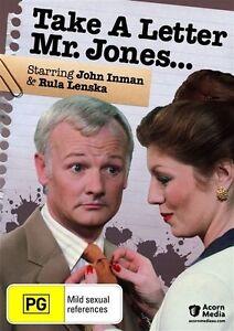 Take-A-Letter-Mr-Jones-1981-DVD-John-Inman-Rula-Lenska-Miriam-Margolyes-RARE