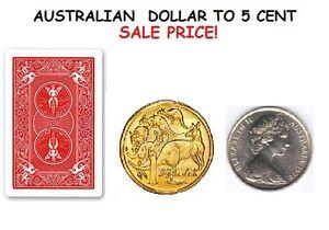 Magischer Australische Dollar Lethal Münzedollar Münze