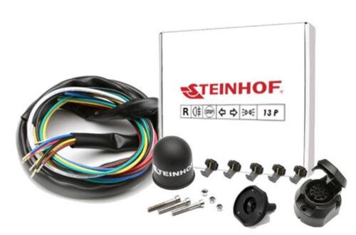 Kpl AHK Für Nissan Almera Tino 00-06 Anhängerkupplung starr+ES 13p uni