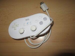 Genuino-Oficial-Nintendo-Wii-Wii-U-Clasico-Controlador-con-Cable-Mando-Control