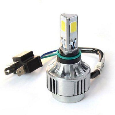 LED Motorcycle Bike COB Hi/Lo Beam Headlight Front Lamp Kit H4 40W 4500lm 6000K