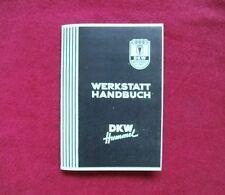 DKW-Hummel WERKSTATT - HANDBUCH DKW Hummel Moped 3 Gang Handschalter