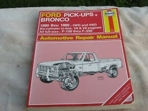 Ford-Pick-ups-amp-Bronco-1980-Thru-1996-Automotive-Repair-Manual-No-36058-880