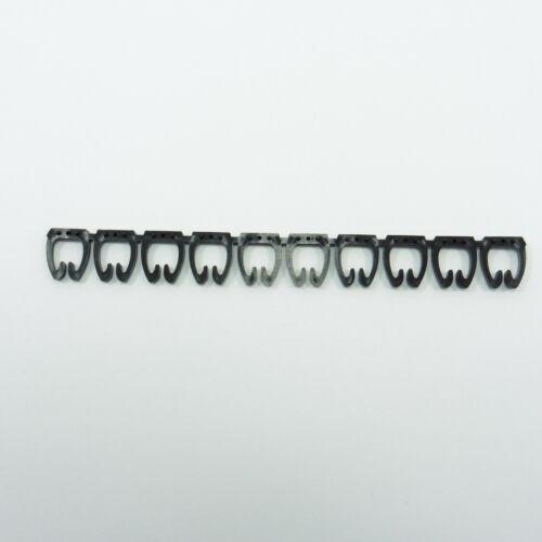 100 X marcadores de cable colorido C-Tipo de FTP UTP Marcador Etiqueta número 5-8mm cat6