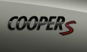 Genuine-Mini-Negro-Piano-Cooper-S-Insignia-Emblema-Placa-F54-55-56-57-60-2465245