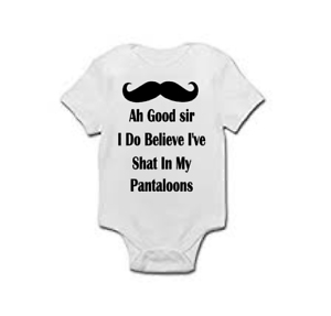 Baby Grow Funny Baby Vest I Do Believe I Just Shat Pataloons Maternity Gift