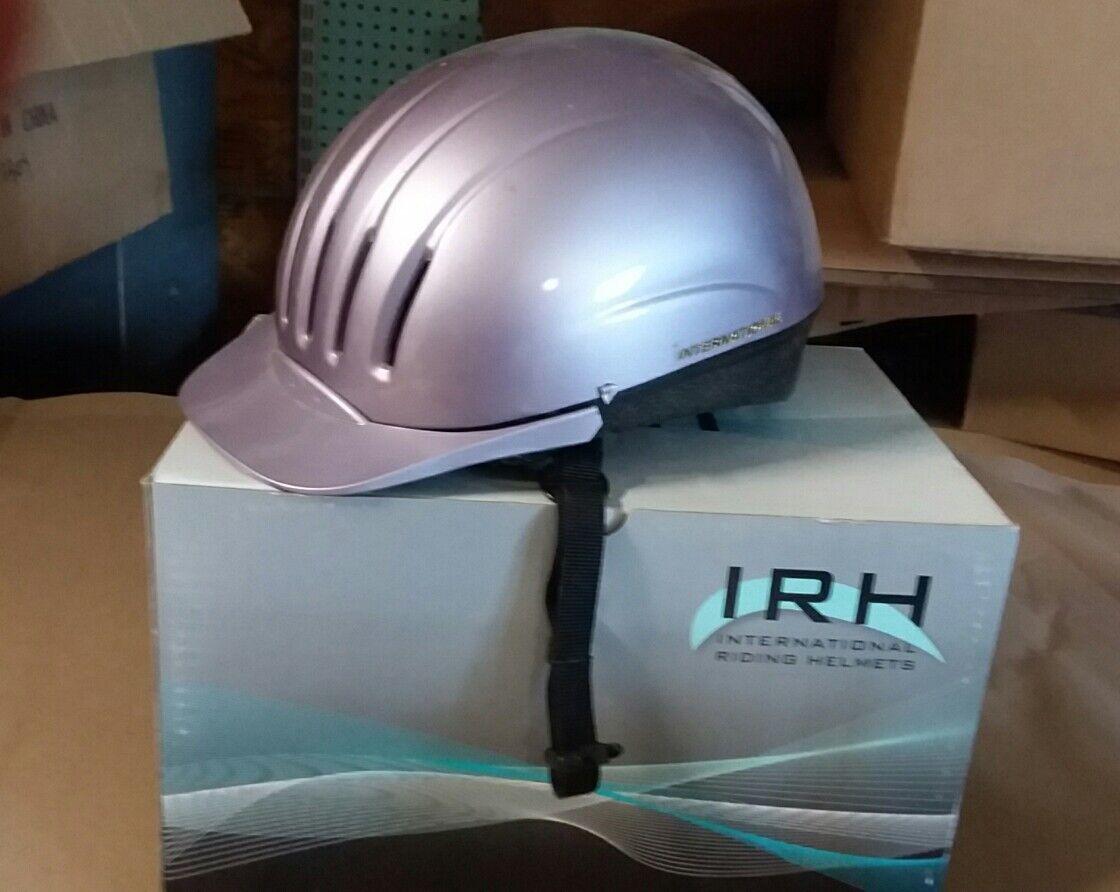 NEW IRH Equi-Lite Riding Helmet -  pearl purple Small