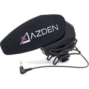 Azden-SMX-30-Stereo-Mono-Switchable-Video-Microphone-for-Canon-DSLR-Cameras