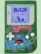 Custom Gameboy with Bivert Mod & white backlight, custom Pokemon Venusaur!