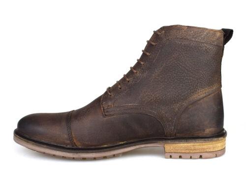 Silver Street London tinturn en cuir marron homme formelle Bottes Gratuite au Royaume-Uni p/&p!