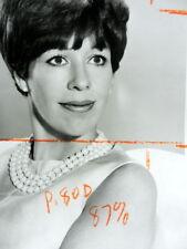 CAROL BURNETT T.V. Publicity PHOTO 8 x 10 Head Shot CBS SHOW COMEDY 1960's ak463