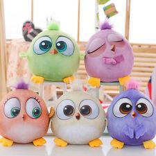5Pcs Angry Birds Plush Hatchlings Stuffed Bird Toy Animal Soft Lot Set Kids Gift
